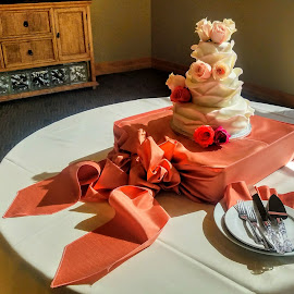 All about the cake by Michael Pruitt - Wedding Other ( arizona, sedona, wedding cake )