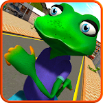 Stupid Frog Rampage 3D Icon