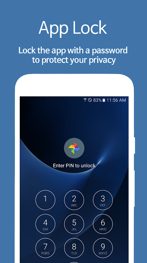 AppLock - Fingerprint Screenshot 0