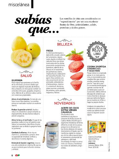 Revista Cocina Vital - screenshot