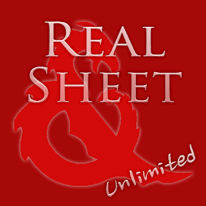 Real Sheet ?: D&D 5th + Dices