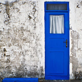 Blue door by Zoran Mrdjanov - Buildings & Architecture Architectural Detail