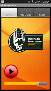 Rádio Supernorte - screenshot