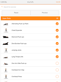 Sworkit Personalized Workouts Screenshot