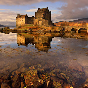 Eilean Donan Castle by Wolfy Pic - Landscapes Waterscapes
