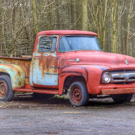 rust bucket by Betty Taylor - Transportation Automobiles ( trucks, transportation, rusty )