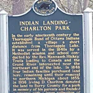 In the early nineteenth century the Thornapple band of Ottawa Indians established a village a short distance from Thornapple Lake. It was served in the 1840s by a Methodist mission and school ...