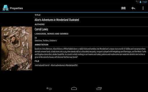 AlReader -any text book reader screenshot 21