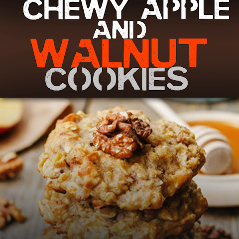 Paleo Dessert Chewy Apple & Walnut Cookies