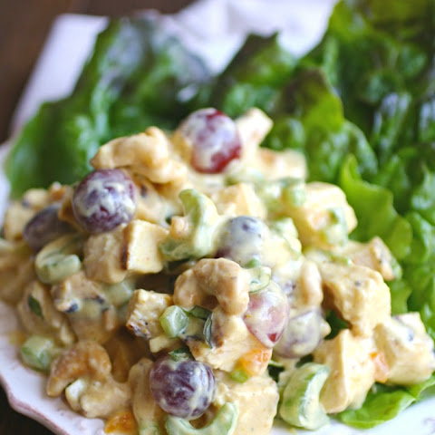 Easy Coronation Chicken Salad