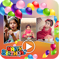 Happy Birthday Movie Maker APK for Bluestacks