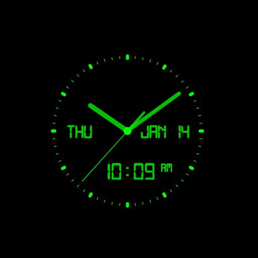 Analog and Digital Clock AW-7