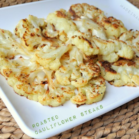 Oven Roasted Cauliflower Steaks