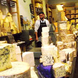 Cheese heaven! by Sian Arulanantham - Food & Drink Meats & Cheeses ( shop, tasty, london, cheese monger, cheese, stilton )