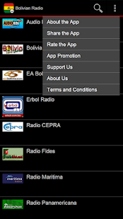 Bolivian Radio Pro - screenshot