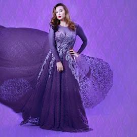 Violet Haze by Robert dela Torre - People Fashion