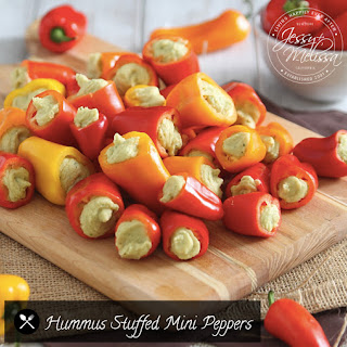 Stuffed Peppers Hummus Recipes