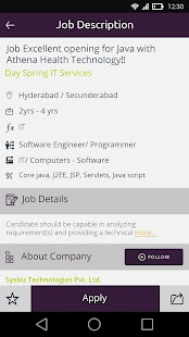 Monster Jobs APK for Blackberry
