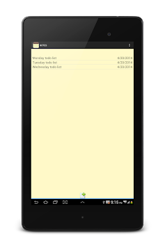 NOTES APK screenshot thumbnail 20