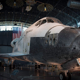 Discovery by Shawn Klawitter - Transportation Other ( transportation, museum, space, space shuttle, exploration )