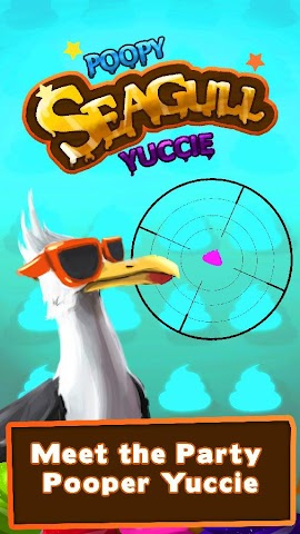 android Poopy SeaGull Yuccie - Doodies Screenshot 0