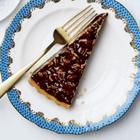 tart triple chocolate tart with boozy whipped cream dark chocolate ...