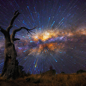 Big Bang by Lincoln Harrison - Landscapes Starscapes