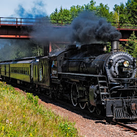 Soo Line 2719 by Ben Podolak - Transportation Trains ( steam train, locomotive, pacific, soo line, 2719 )