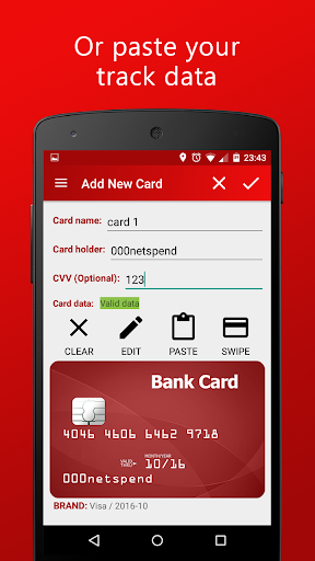 MyCard - NFC Payment - screenshot