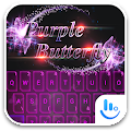 App TouchPal PurpleButterfly Theme APK for Kindle