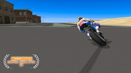 Motorbike Driving Simulator 3D - screenshot