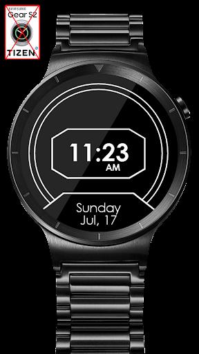 Daring Carbon HD Watch Face - screenshot