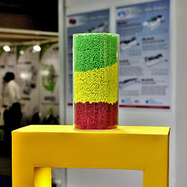 Colorful pellets.. by Anoop Namboothiri - Abstract Patterns ( plastic, industrial, colors, anoop namboothiri, exhibition )
