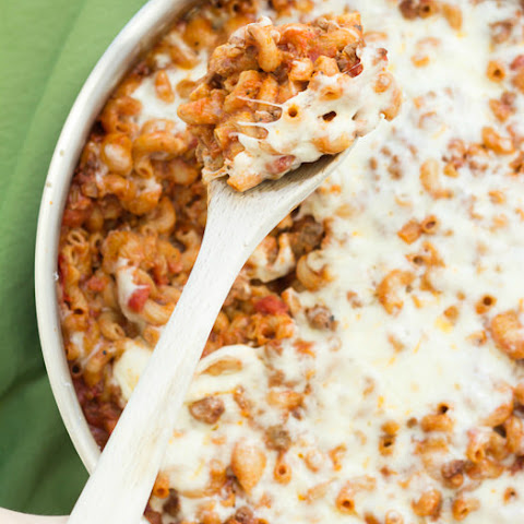 Easy Cheesy Beef and Pasta Skillet