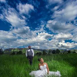 Clouds by Lodewyk W Goosen (LWG Photo) - Wedding Bride & Groom ( wedding photography, wedding photographers, wedding, weddings, bride and groom, bride, groom, bride groom )