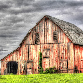 The Old Red Barn by Jackie Eatinger - Buildings & Architecture Other Exteriors (  )