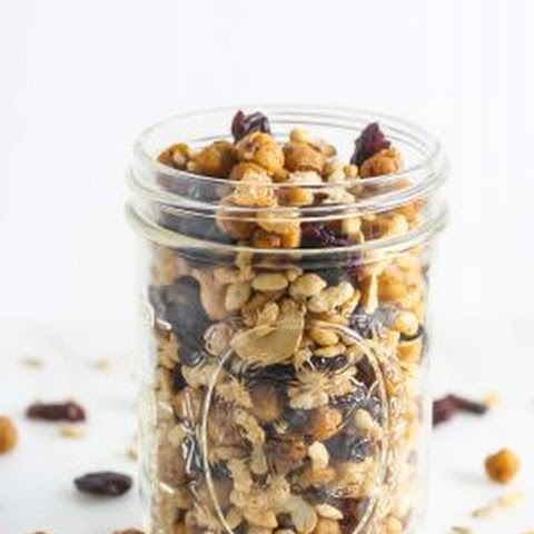 Roasted Chickpea Trail Mix