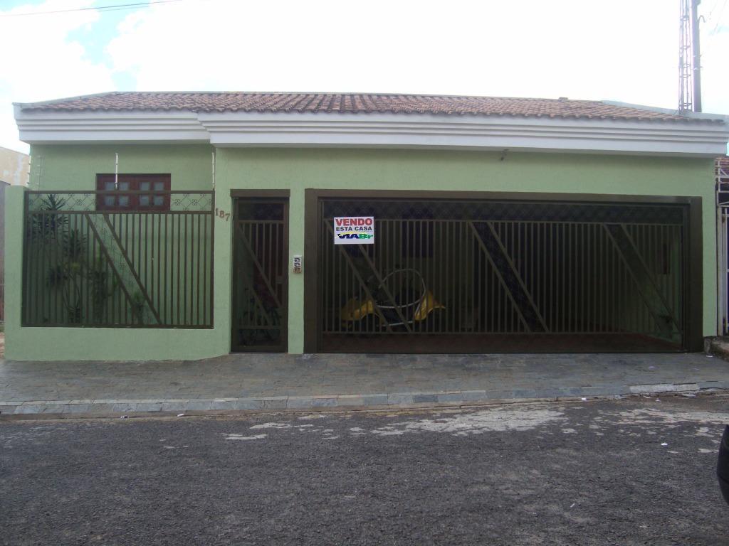 Casa Residencial à Venda, Jardim Cruzeiro do Sul, São Carlos - CA0149.