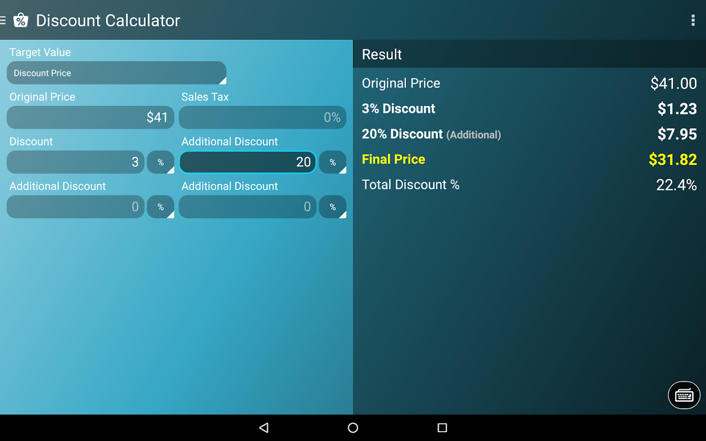 Multi Calculator Screenshot 12