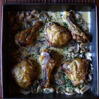 Crispy Baked Chicken Mushroom Sauce Recipes