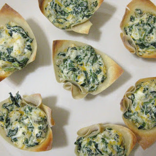 Spinach Dip Mini-Bites