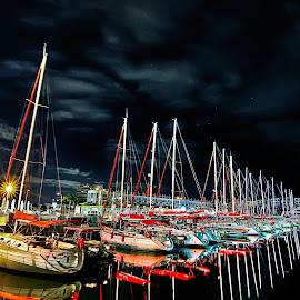 marina by Abu  Janjalani Abdullah - Transportation Boats ( .boats, transportation )