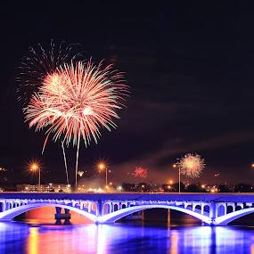 by Liz Huddleston - Abstract Fire & Fireworks (  )