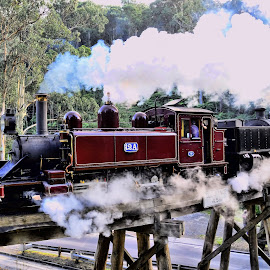 Puffing Billy Emerald  Vic by RJ Photographics - Transportation Trains