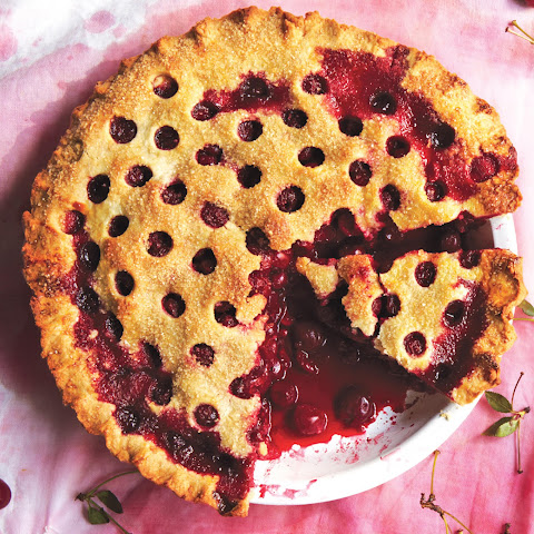 cherry crumble recipe yummly sour cherry pie cherry pie with almond ...