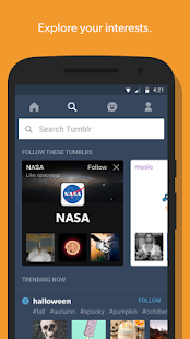 Tumblr APK for Ubuntu