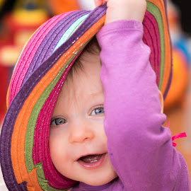 No hat by Joannie Blondeau - Babies & Children Babies ( girl, colors, hat,  )