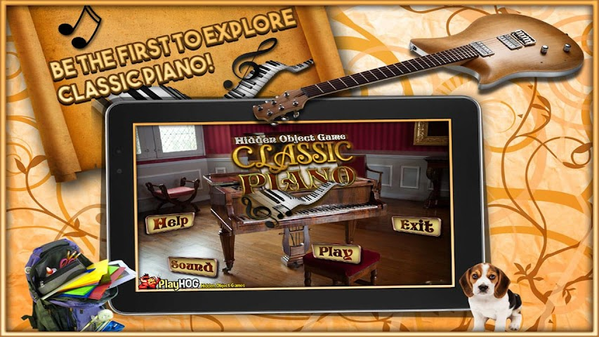 android Classic Piano - Hidden Object Screenshot 2