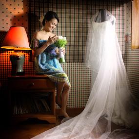 by Edwin  Mendoza - Wedding Getting Ready ( wedding )