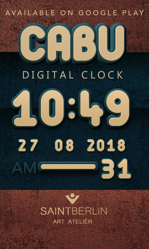 Cabu Clock Widget Screenshot 2